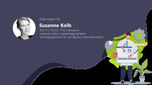 ISO 17025 Expertin Susanne Kolb